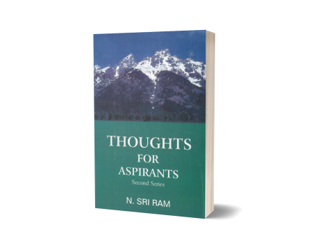 THOUGHTS FOR ASPIRANTS - Second series -